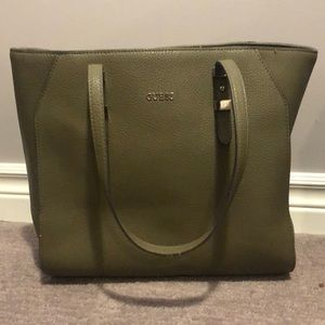 Olive Green Guess bag